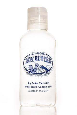 Boy Butter Clear H2o - 4 Oz.