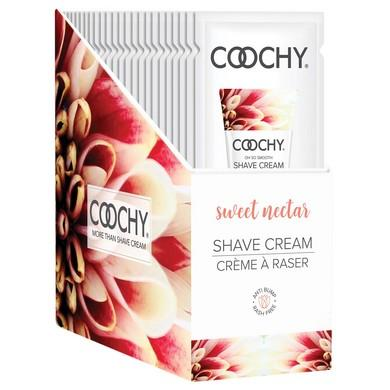Coochy Shave Cream - Sweet Nectar - 15 Ml Foils  24 Count
