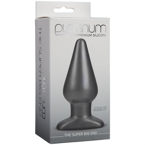 Platinum Premium Silicone - the Super Big End - Charcoal