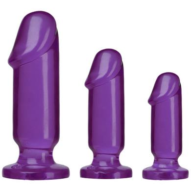 Crystal Jellies Anal Starter  Kit - Purple