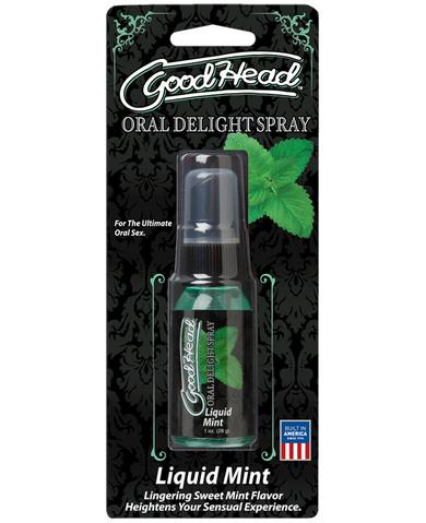 Goodhead Oral Delight Spray Liquid Mint - 1 oz.