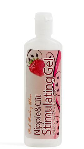 Nipple And Clit Stimulating Gel 1 oz. - Strawberry