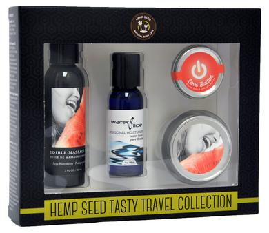 Hemp Seed Tasty Travel Collection - Watermelon