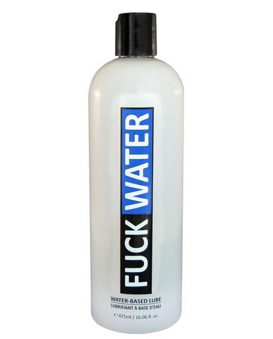Fuck Water Water-Based Lubricant - 16 oz.
