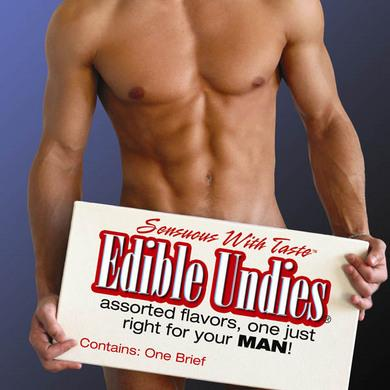 Male Edible Undies - Strawberry With Chocolate