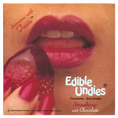 Female Edible Undies - Strawberry With Chocolate