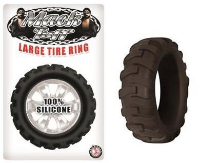 Mack Tuff Large Tire Ring - Black