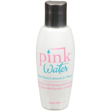 Pink Water Based Lubricant for Women - 2.8  Oz. - 80 Ml