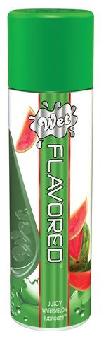 Wet Flavored Watermelon Gel Lubricant - 3.5 oz.