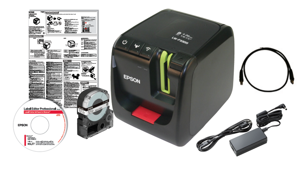 LABELWORKS PX LW-PX800 Industrial Label Maker