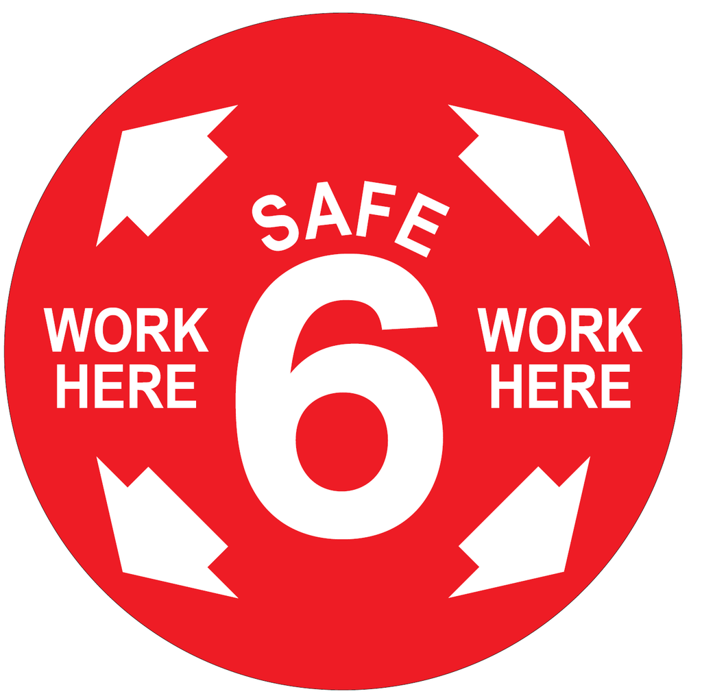 CUSTOM #Safe6 Manufacturing Decal