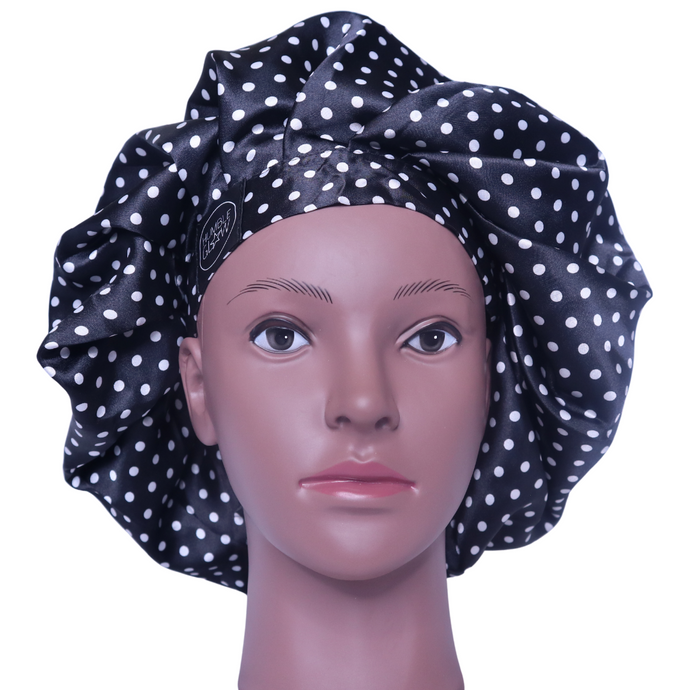 Elite Satin Bonnet - Midnight Sky | Satin Bonnets for Natural Hair