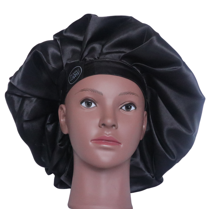 Elite Satin Bonnet - Panther Queen | Satin Bonnets For Natural Hair