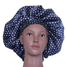 Load image into Gallery viewer, Elite Satin Bonnet - Twilight Sky | Satin Bonnets For Natural Hair
