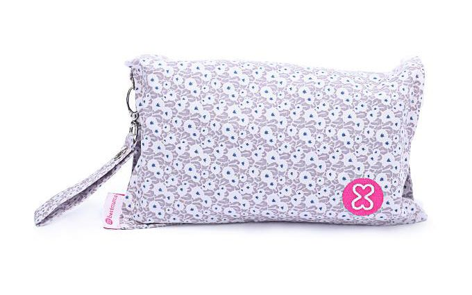 Beij flowers diaper wallet