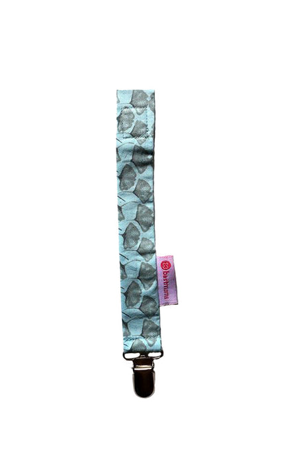 Blue Umbrella Pacifier Clip