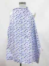 Load image into Gallery viewer, Blue Butterflies Nursing Cover
