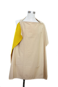 Gold Nursing Cover
