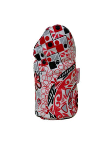 Red Pattern Bottle Cover