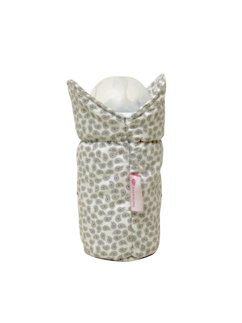 Grey Cashmere Bottle Cover