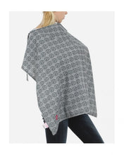 Load image into Gallery viewer, Black Print Nursing Cover