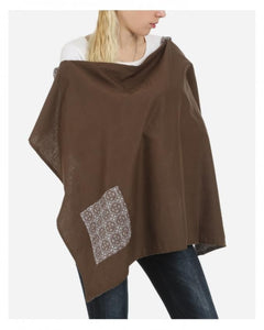 Brown Nursing Cover