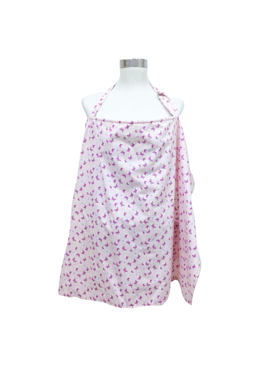Purple Butterflies Nursing Cover