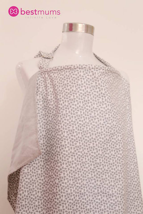Grey Cashmier Nursing Cover