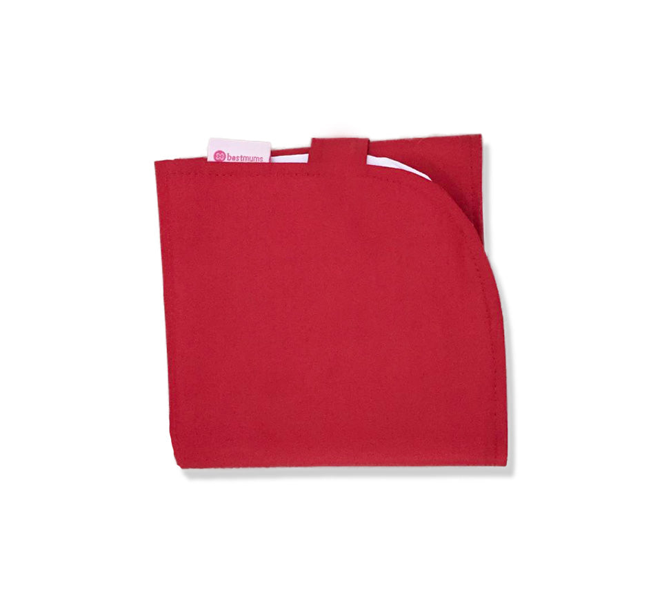 Red Waterproof Changing Mat