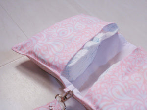 Rose Print Diaper Wallet