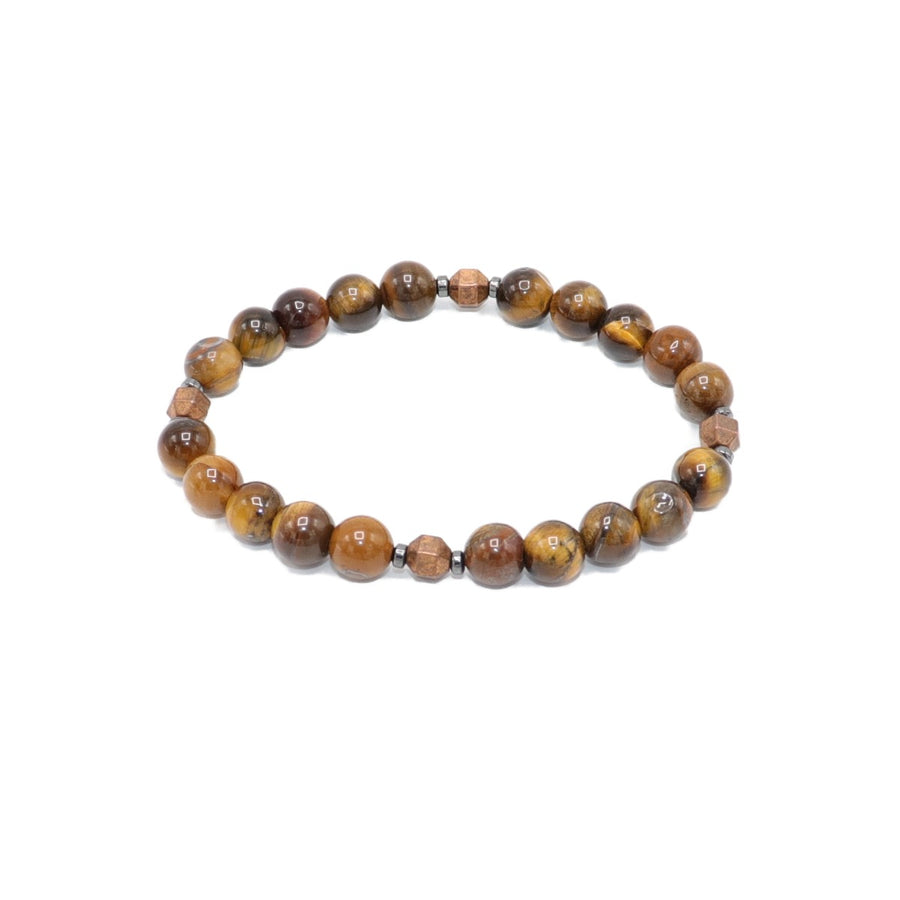 Tigers Eye Copper Bracelet