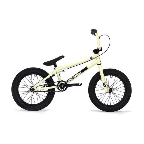 "Tall Order Ramp 16"" Bike - Gloss Pastel Yellow 16.5"" - THE BOARDING HOUSE EXETER DEVON EX43AN"