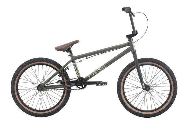 Premium Stray Bmx Bike 2018 - Matt Olive Green - THE BOARDING HOUSE EXETER DEVON EX43AN