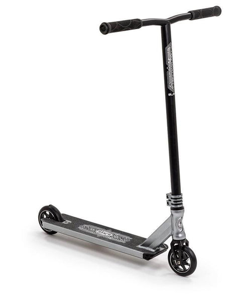 Slamm Sentinel II Stunt Scooter Silver - THE BOARDING HOUSE EXETER DEVON EX43AN