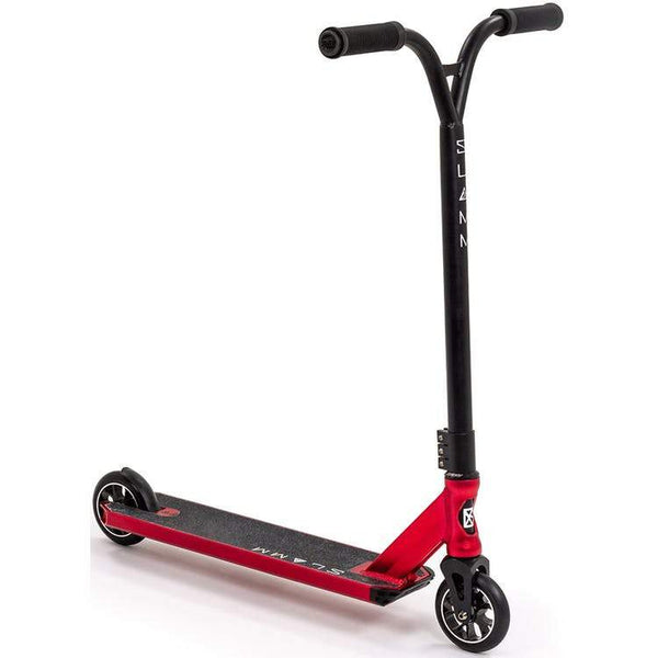 Slamm Assault IV Stunt Scooter Red - THE BOARDING HOUSE EXETER DEVON EX43AN