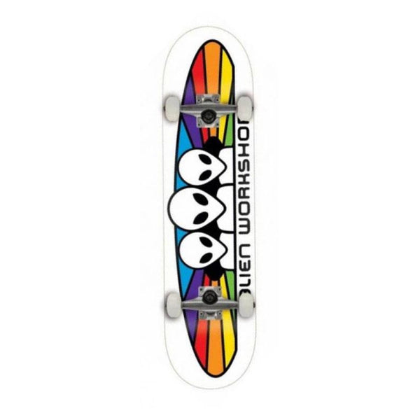 "Alien Workshop Spectrum White Complete Skateboard - 8"" - THE BOARDING HOUSE EXETER DEVON EX43AN"