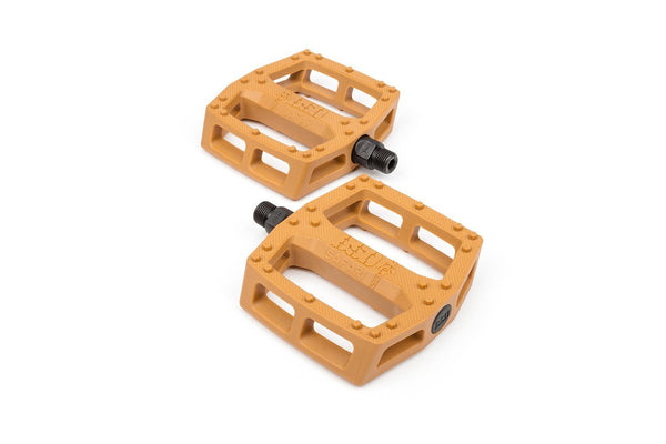 BSD Safari Pedals - Gum - THE BOARDING HOUSE EXETER DEVON EX43AN