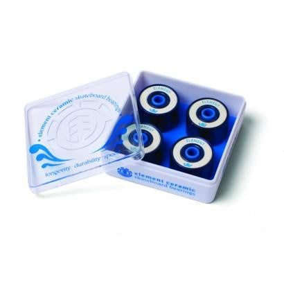 Element Ceramic Skateboard Bearings (Pack Of 8) - THE BOARDING HOUSE EXETER DEVON EX43AN