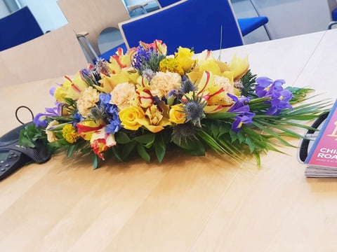 LA ATELIER - FRESH FLORAL LONG TABLE ARRANGEMENT