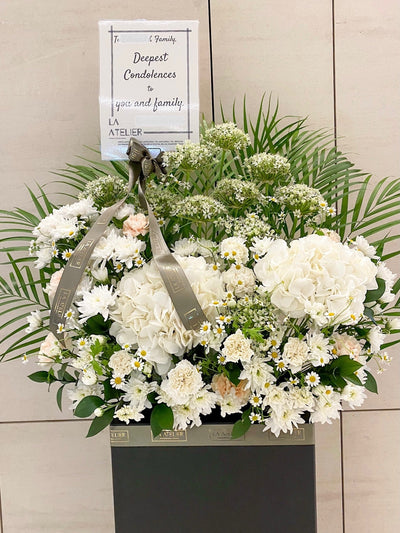 LA ATELIER SINGAPORE PTE LTD | Purity Condolences
