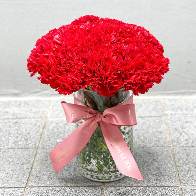Timeless Rouge Carnations
