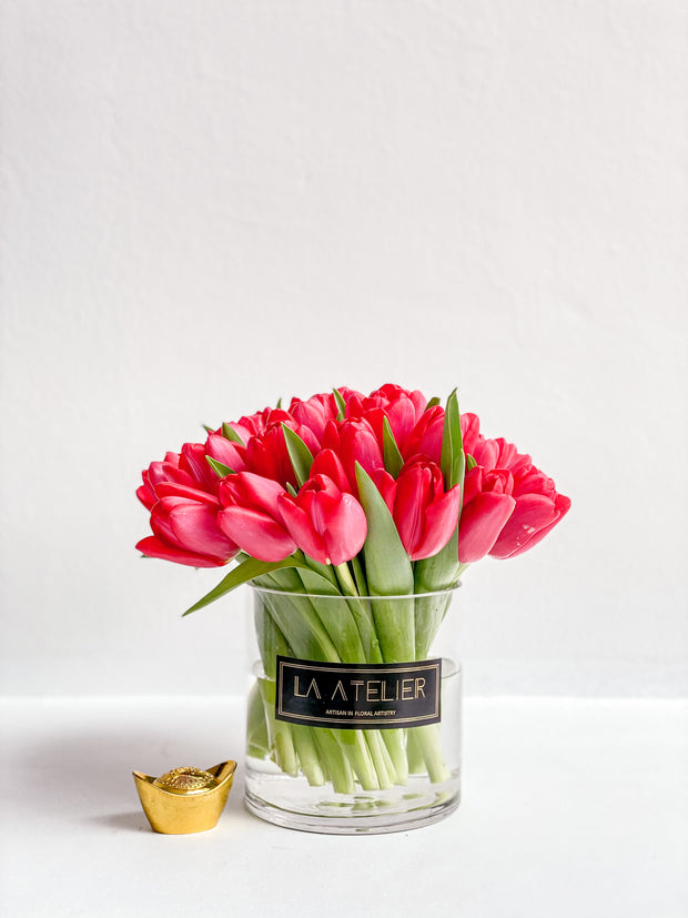 Lucky Red Tulips