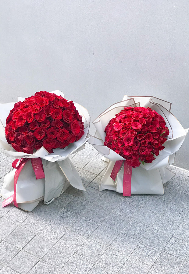 99 Rouge Bouquet - LA ATELIER SINGAPORE