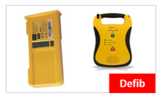 Defibtech Lifeline Battery 5 years / 7 years