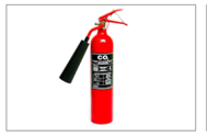 Load image into Gallery viewer, Portable Fire Extinguisher CO2