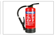 Portable Fire Extinguisher Powder
