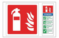Portable Fire Extinguisher Signs