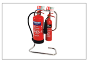 Load image into Gallery viewer, Portable Fire Extinguisher Stand