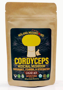Certified Organic Mushroom Powder / Cacao Mix (3.5 oz)