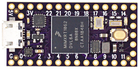 Teensy 4.0 - Purple OSH Park Edition